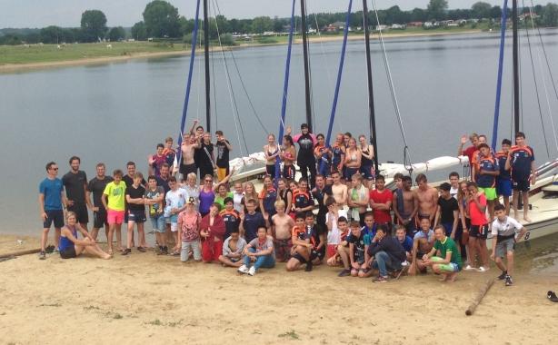 groep watersportklas